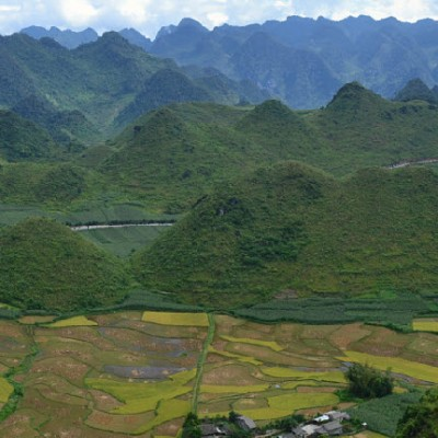 Cycling north Vietnam - HaGiang to QuanBa