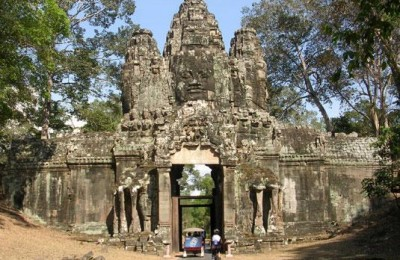 Angkor temple - Cycling Cambodia to Vietnam
