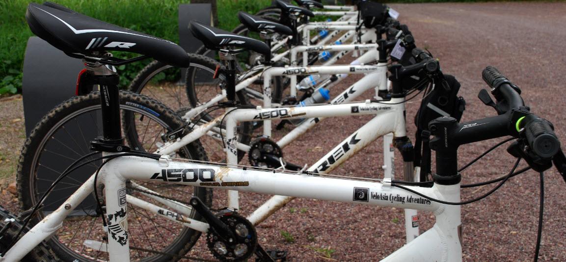Cycling Vietnam Trek 4500 bike fleet