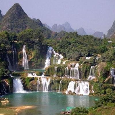 Ban Gioc waterfalls - CaoBang province.