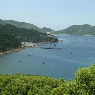 Vung Ro bay - Cycling from TuyHoa to Nhatrang