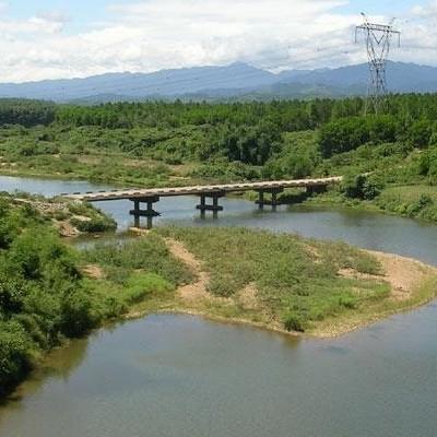 Former Ho Chi Minh trail - DMZ area - Quang Binh to Quang Tri.