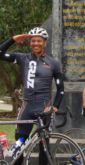 Tony Cruz - USPostal Team on Ho Chi Minh Trail