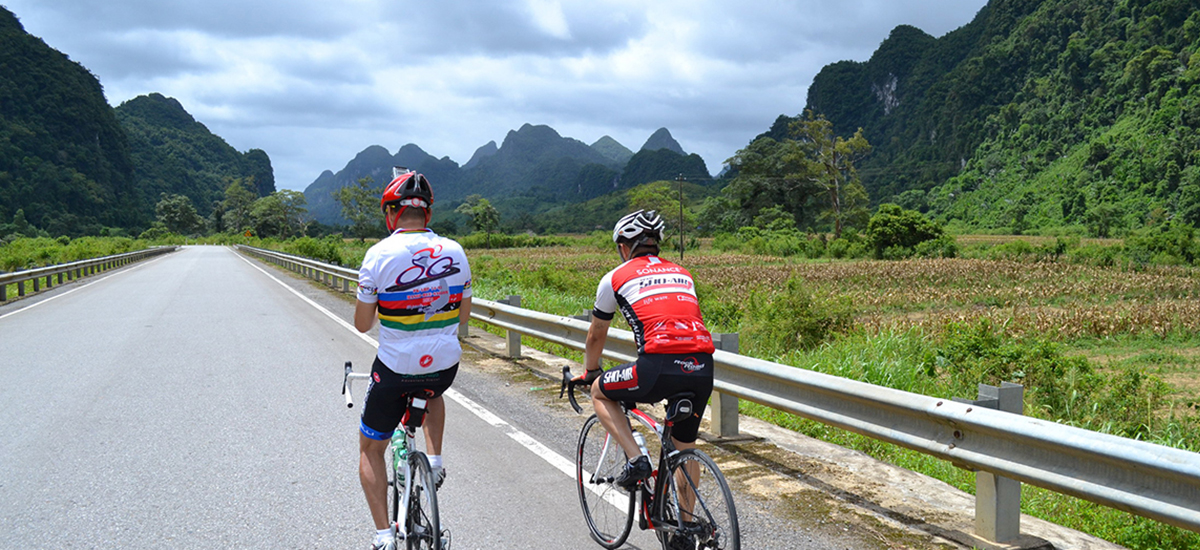 Tour du Vietnam 2013 - KheVe to Phong Nha park.