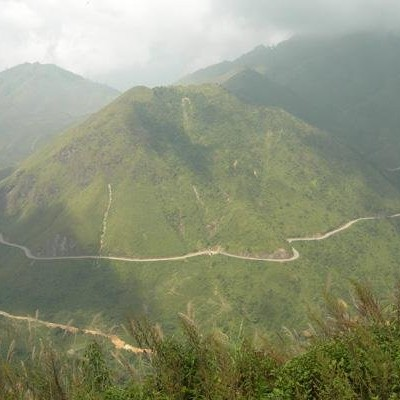 Tram Ton pass - Cycling Sapa to TamDuong 2006