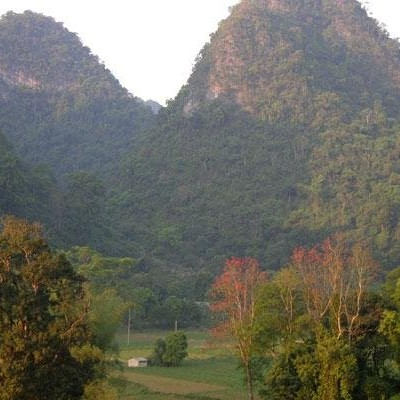 Cycling CaoBang to Trung Khanh