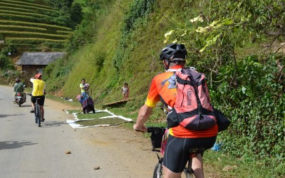 Cycling to Mu Cang Chai - north Vietnam