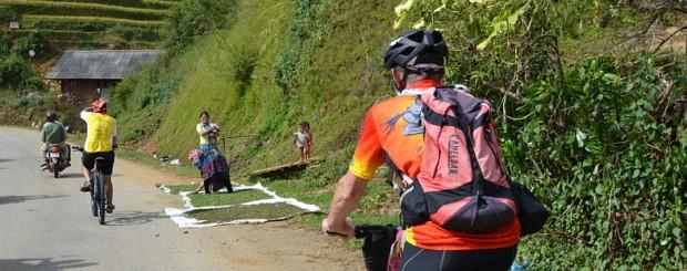 Cycling to Mu Cang Chai - north Vietnam