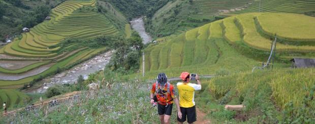 Rice terraces of Mu cang chai